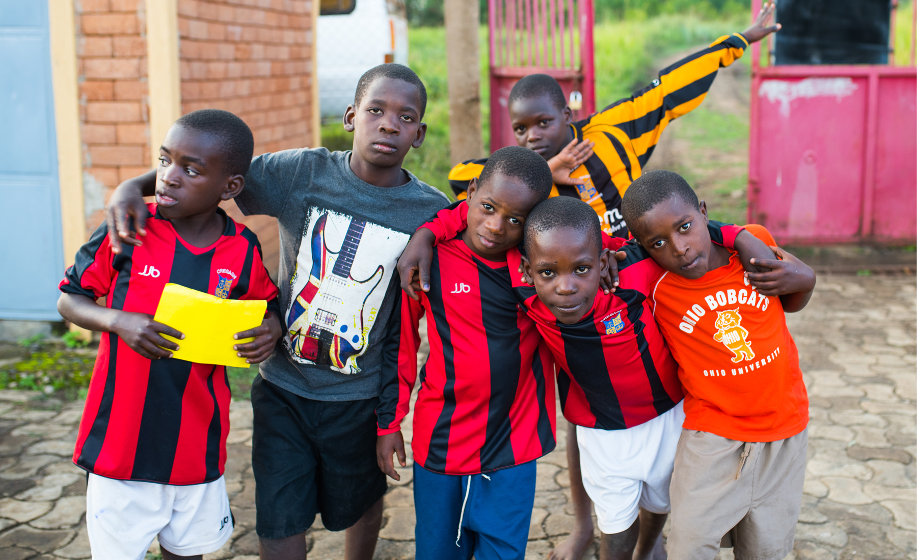 Abaana - Send the New Life Homes boys to SU Camp